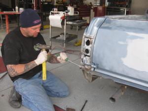 Car Restoration El Camino